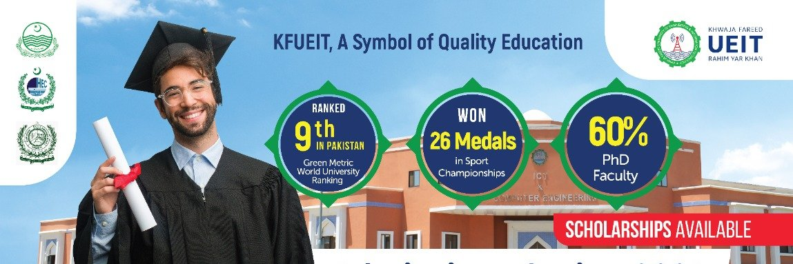 Khwaja Fareed University of Engineering and Information Technology's official Twitter account