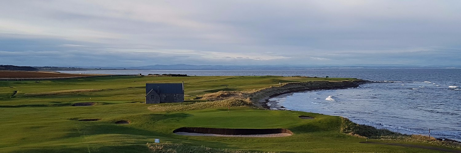 """Crail Golfing Society on Twitter: """"Played at Arbroath Golf Club last week. A hidden gem located in Angus by the sea. http://t.co/R2laP951xx"""""""