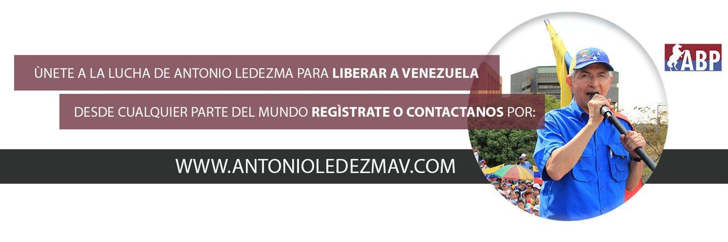 Antonio Ledezma Freedom