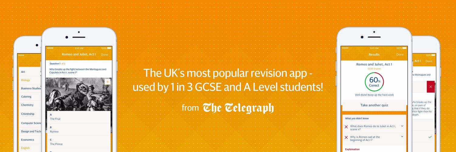 The UK's most popular exam preparation app. From The Telegraph.