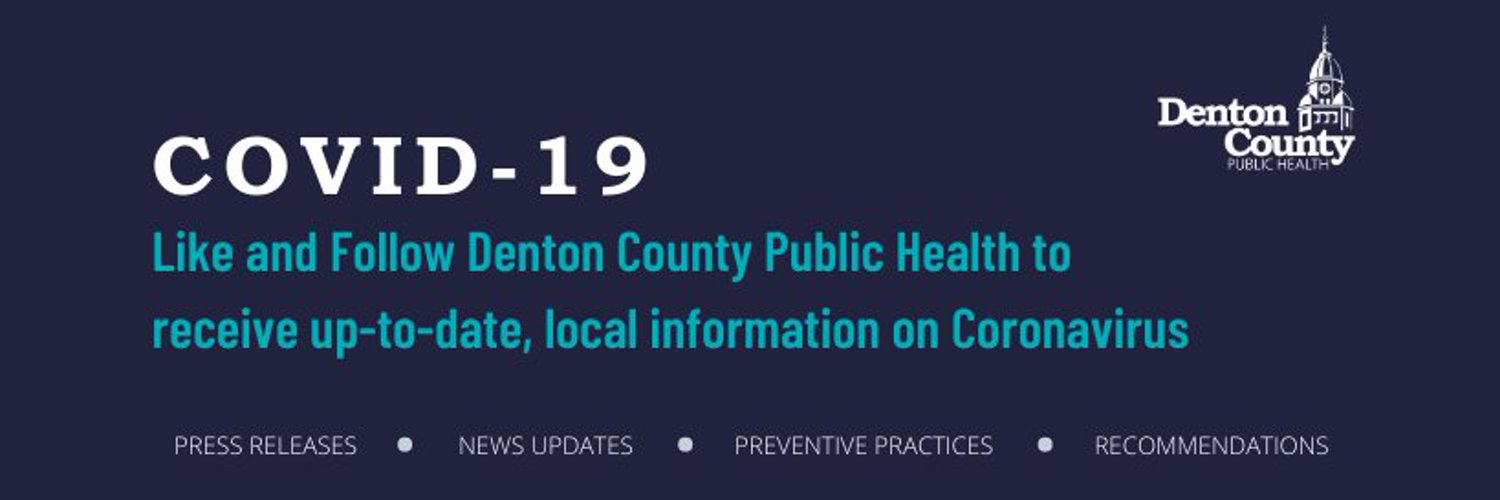 DCPH: Leading our communities to a healthier future. Denton County's Social Media Policy: dentoncounty.com/Pages/Social-M…