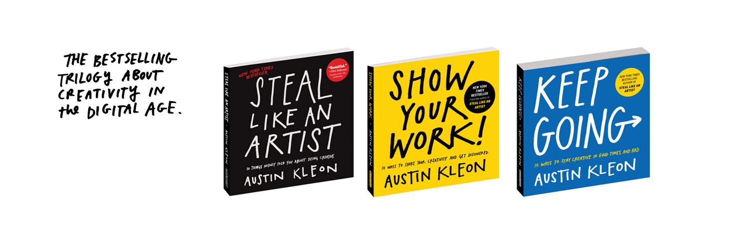 Author of STEAL LIKE AN ARTIST & other bestsellers. Subscribe to my newsletter and log off of this hell site: austinkleon.com/newsletter
