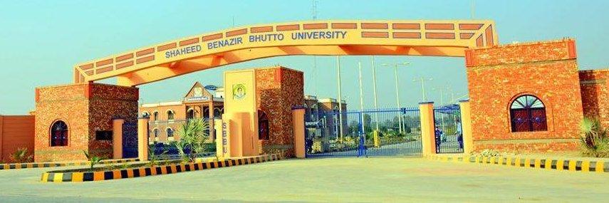 Shaheed Benazir Bhutto University Shaheed Benazirabad's official Twitter account