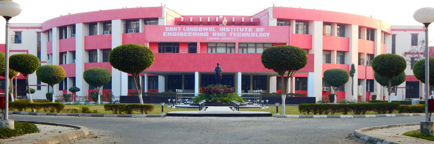 Sant Longowal Institute of Engineering and Technology's official Twitter account