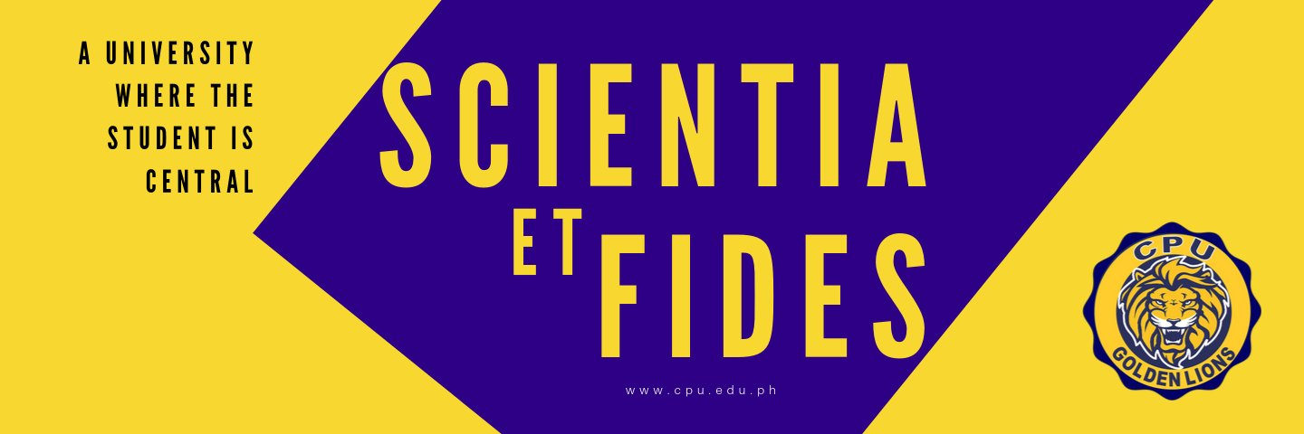 Central Philippine University's official Twitter account