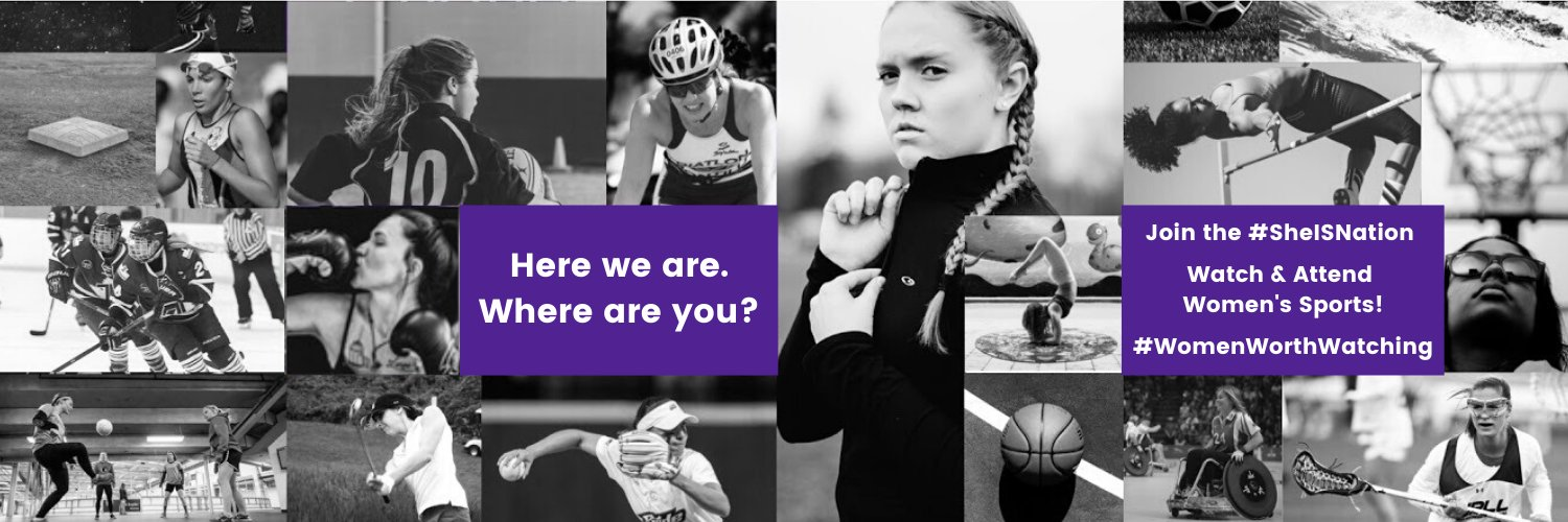 Using the power or sport to create a future of, by, and for strong women • instagram.com/teamsheis • fb.com/sheissports • #WomenWorthWatching