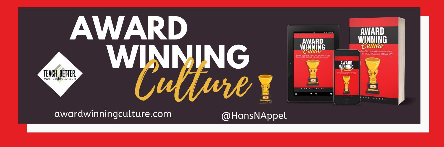 How might you re-pool building, classroom, or department level monies to more effectively enhance culture and climate? #AwardWinningCulture