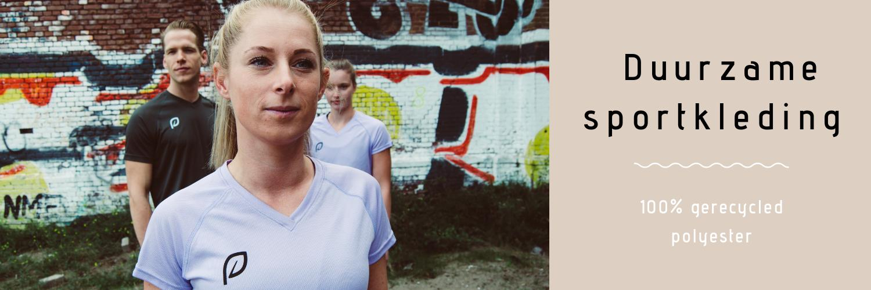 Echte duurzame en eerlijke sportkleding van 100% gerecycled materiaal ♻️❤️