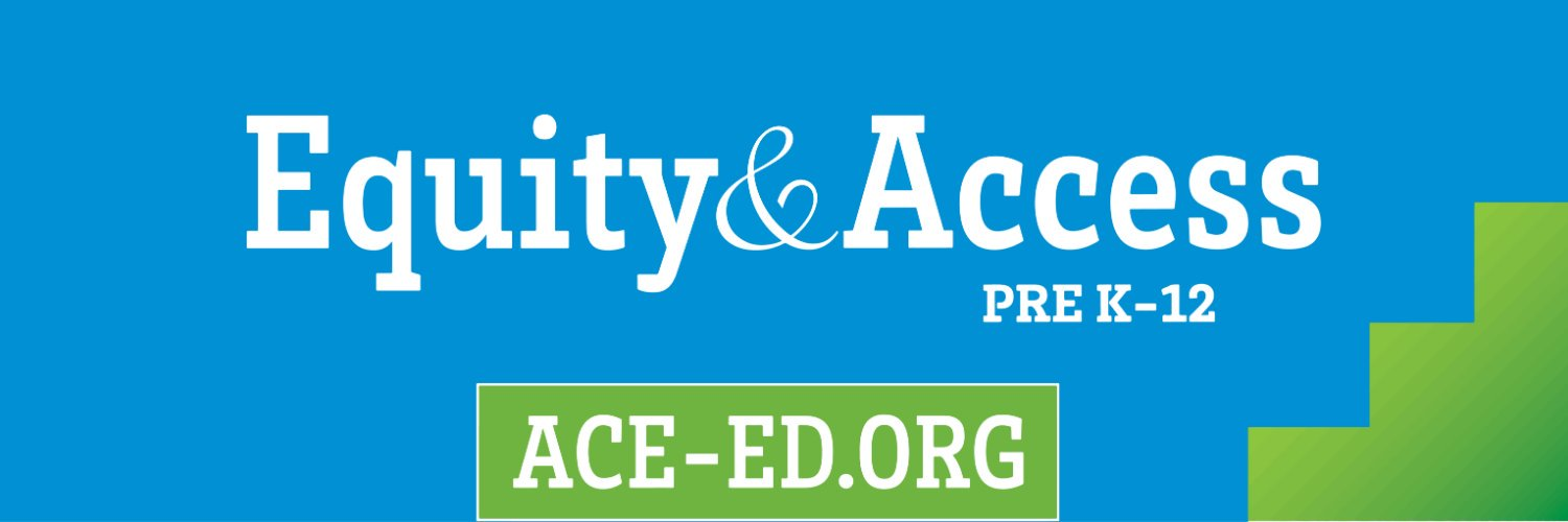 Where educators & the education industry work together for equity. Join the American Consortium for Equity in Education at ace-ed.org — it's free! #ageofequity