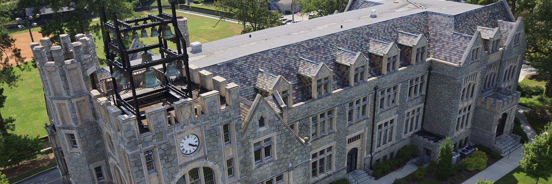 Oglethorpe University's official Twitter account