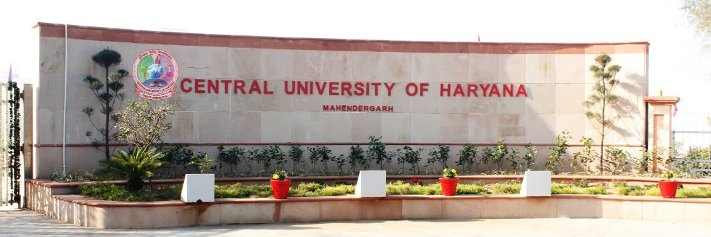 Central University of Haryana's official Twitter account
