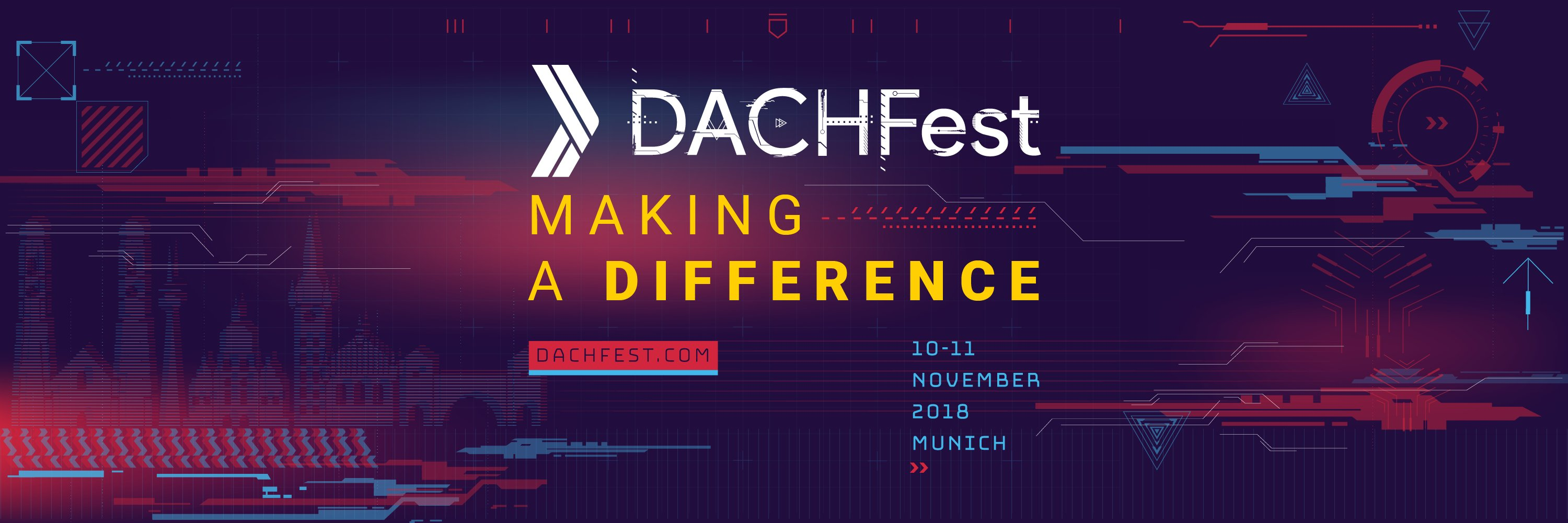 ⏲️It's almost DACHFest time⏲️ Did you get your ticket yet? If not, you should secure one now - amazing workshops,… https://t.co/xblBQmnAPp