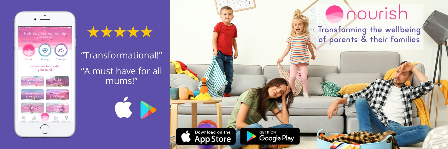 Founder of #1 Wellbeing App for Parents. Bite-sized calm & well-being in your pocket. Mindfulness, yoga Nidra, psychology+. iPhone & Android. Download FREE👇