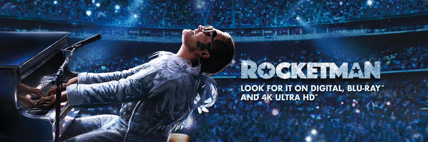 @TaronEgerton is Elton John in #Rocketman, the incredible story of a pop culture icon. Now on Blu-ray and Digital.