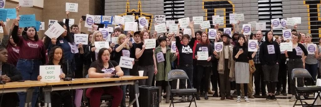 We want to be transparent about the make up of our group. We recognize Portland is very white and we actively try t… https://t.co/qWvsEuN5Id