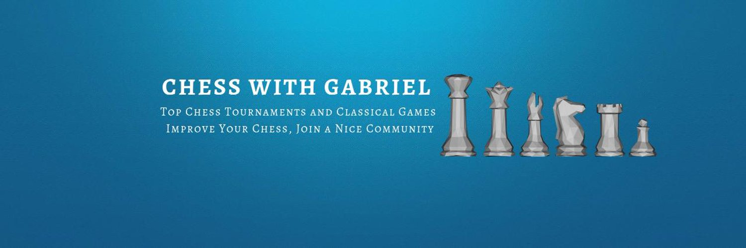 My name is Gabriele Miceli and I'm in love with chess :) Check out my YouTube Channel! 8k Subscribers, Daily Videos, 700 Top Games Analyzed Move by Move!