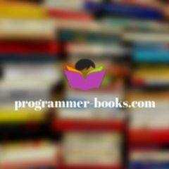 Programmer Books on Twitter: