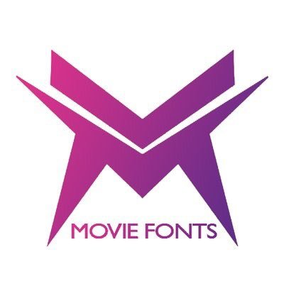 Movie Fonts on Twitter: