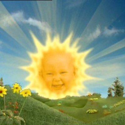 Soleil de t l tubbies on twitter ah non je devais avoir une poussi re dans l oeil a ce moment - Soleil teletubbies ...