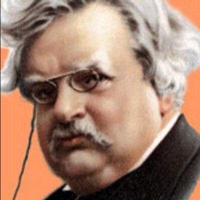 G. K. Chesterton on Twitter