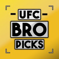 UFC BRO PICKS