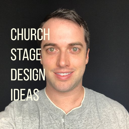 Church Stage Ideas on Twitter: