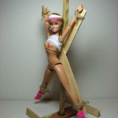 Something is. Barbie having rough sex
