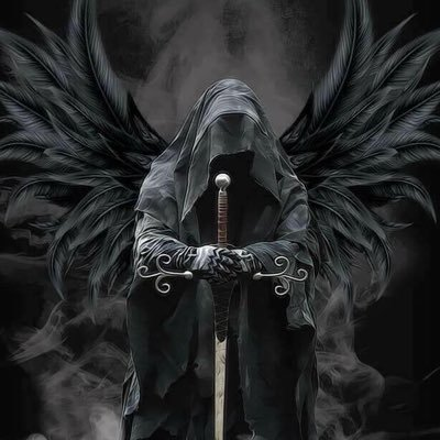 Angel Black nude 750