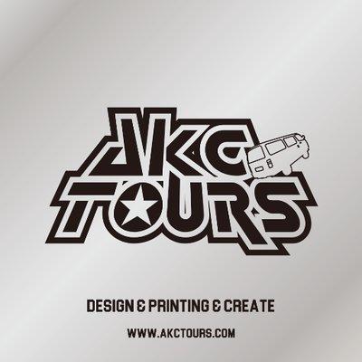 AKC TOURS グッズ製作承ります。