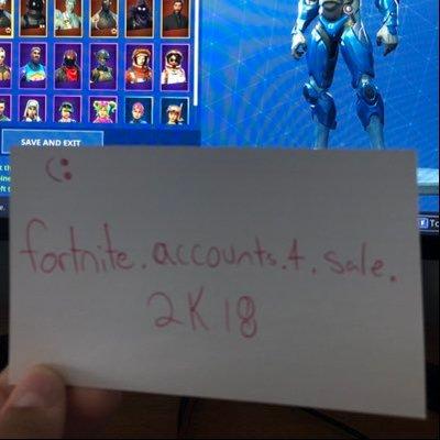 Fortnite Accounts For Sale Fortnit46064472 Twitter