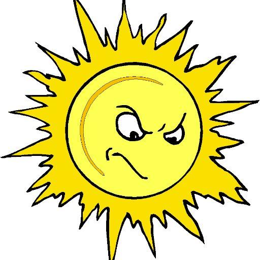Злое солнце картинка