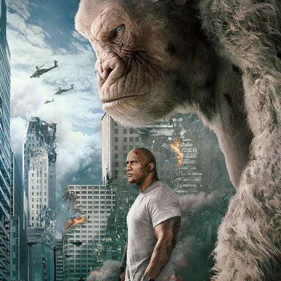Rampage Movie On Twitter Stop By And Take A Photo With George At