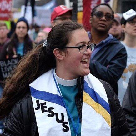 Rev Dr Liz Theoharis (@liztheo )