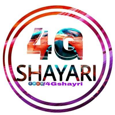 4G Shayari on Twitter: