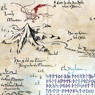 Maps Of Middle Earth On Twitter We Are No Man Art Print Https T