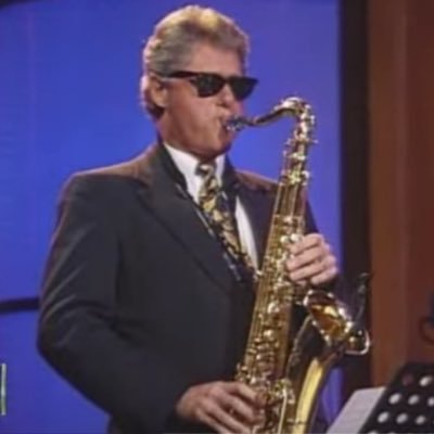 """Bill Clinton's Sexy Saxophone on Twitter: """"In case you were wondering  whether Scarborough has become a shadow democrat, I give you this. He's  still a republican with no grasp of how to"""
