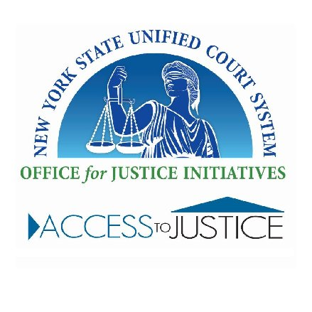 NY State Courts Office for Justice Initiatives on Twitter