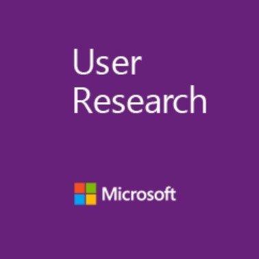 Microsoft User Research