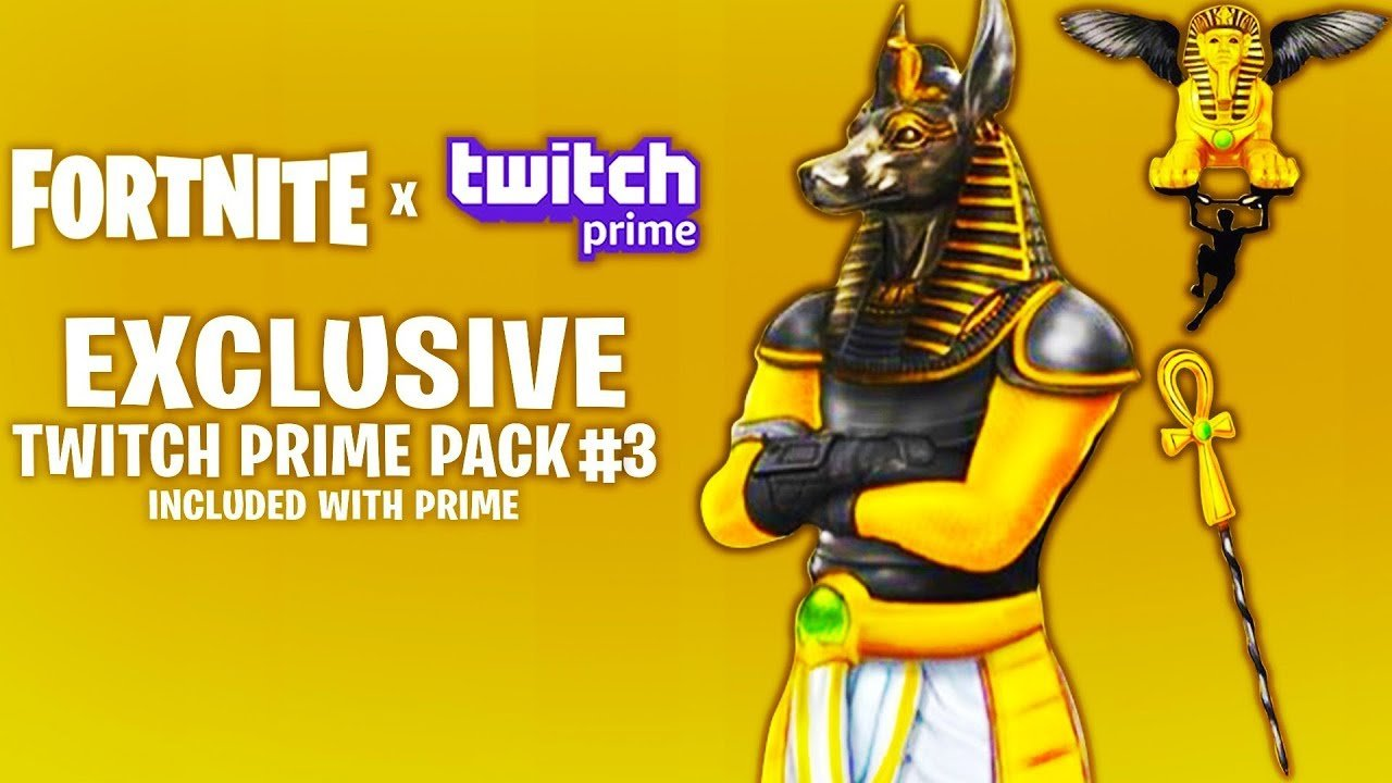 Twitch prime pack 3 Fortnite (@PackPrime) | Twitter