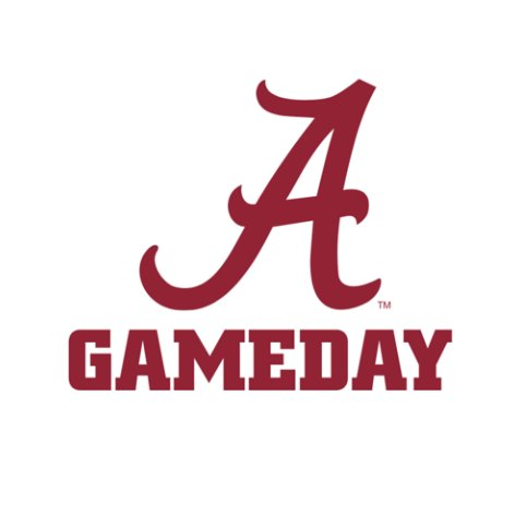 University of Alabama game day top roll tide