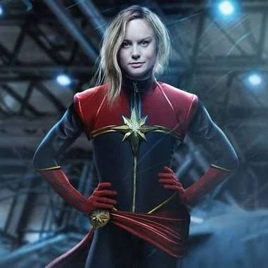 Captain Marvel's Twitter Profile Picture