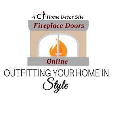 Sensational Fireplace Doors Online Fpdoorsonline Twitter Interior Design Ideas Philsoteloinfo
