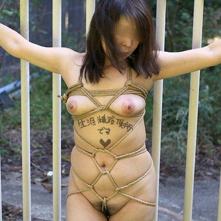 奴隷妻 露出