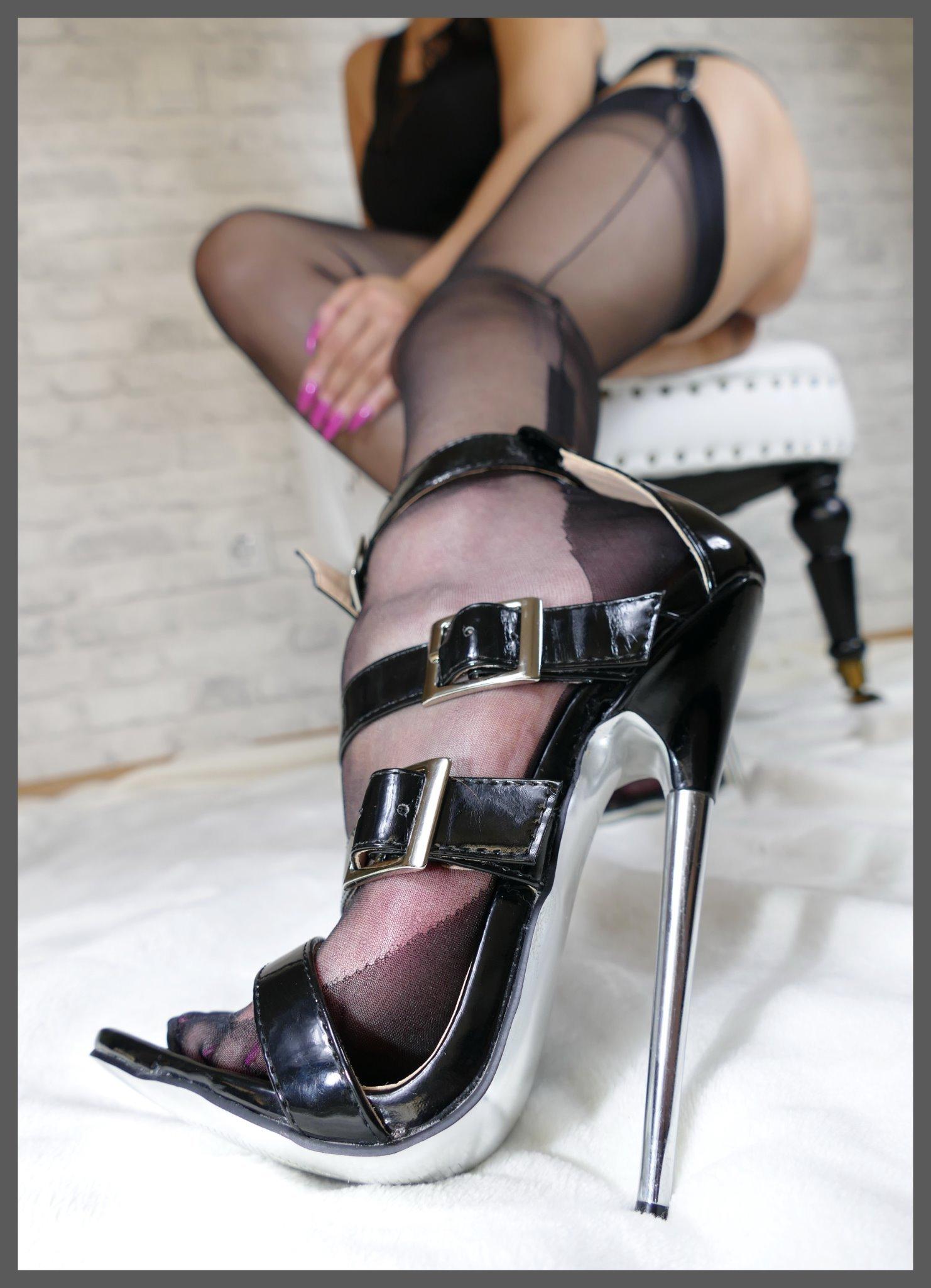 High heel bondage vintage