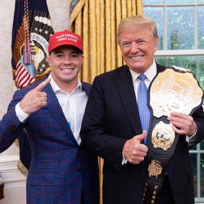 Colby Covington Colbycovmma Twitter