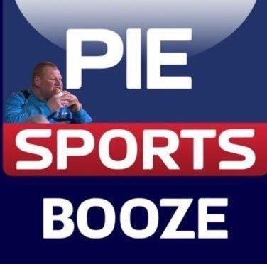 Pie Sports Booze