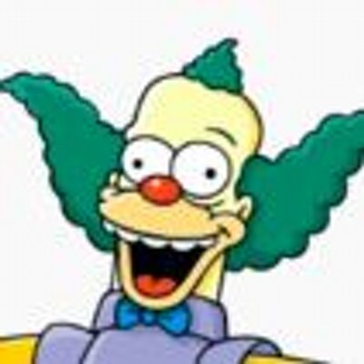 how to draw krusty the clown