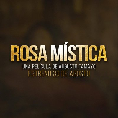 Rosamísticalapelicula On Twitter Rosamistica Compartimos