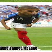 Handicapped Mbappe