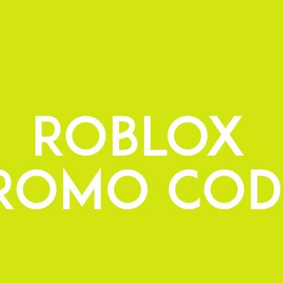 Roblox Promo Codes 2019 At Promocoderoblox Twitter